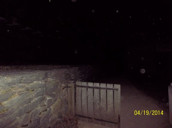 Night time at Harpers Ferry, WV orb
